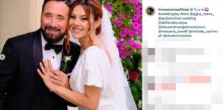Mottola il matrimonio di Federico Zampaglione e Giglia Marra