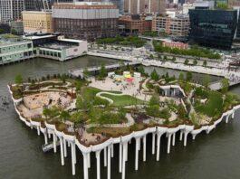 E' stato finanziato dalla Diller-von Furstenberg Family Foundation il fantastico parco galleggiante a New York