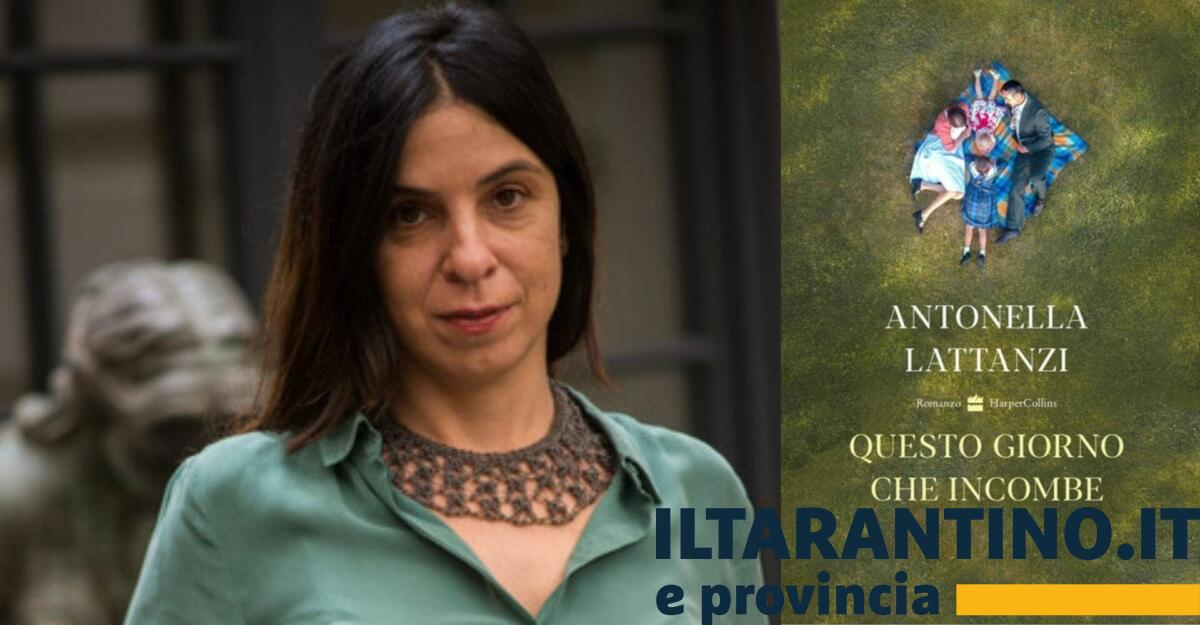 """Antonella Lattanzi presentazione del libro """"Questo giorno che incombe"""""""