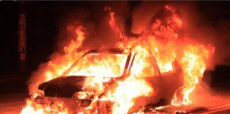 Laterza incendiata auto del vicesindaco