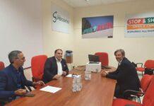 Incontro tra Melucci e il Presidente di Confcommercio Taranto