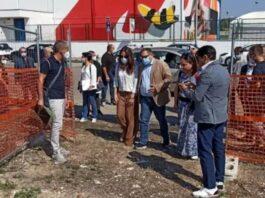 Taranto - aperto il cantiere per il trasporto sotterraneo dei rifiuti
