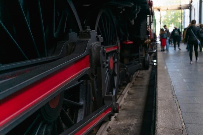 locomotiva a vapore puglia