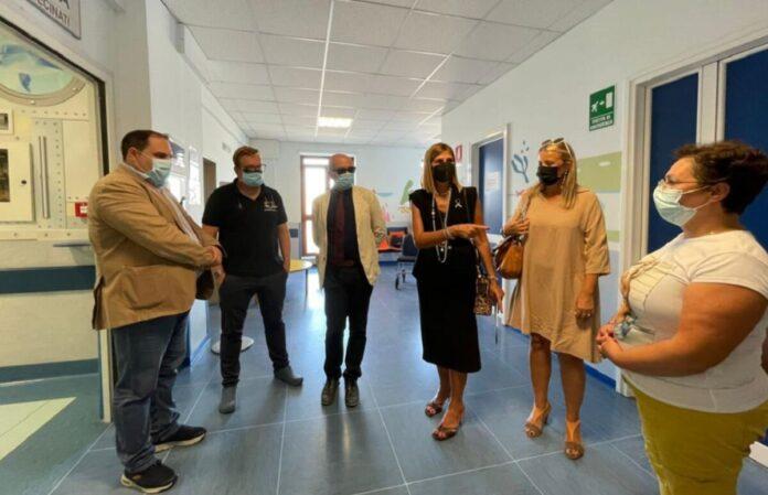 scuola in presenza in ospedale