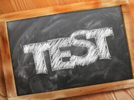 test di ammissione