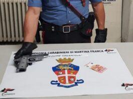 Rapina a Martina Franca- arrestato con pistola giocattolo per 10 euro