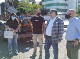 Taranto: Rinaldo Melucci visita i quartieri della città